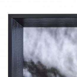 Faux Wood Black Inset Frame