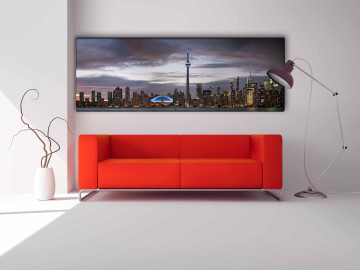 "Toronto 72"" X 24"" #100035"
